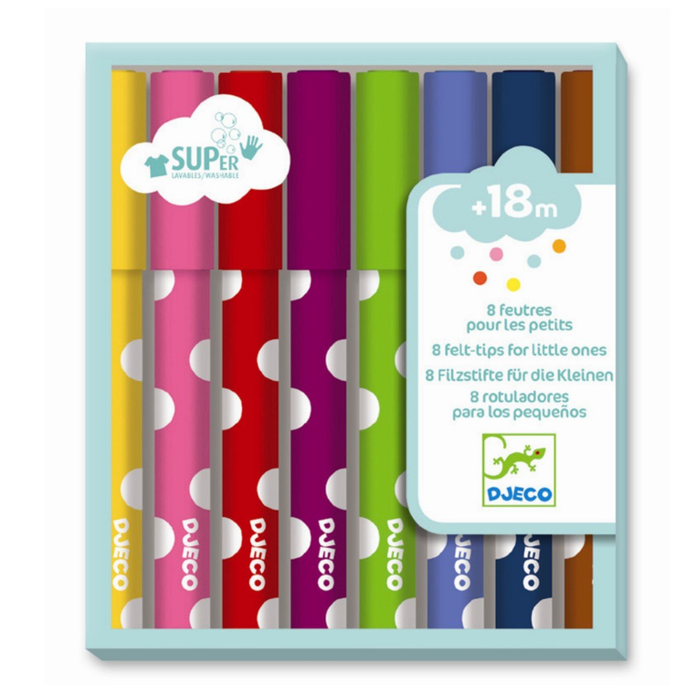 Felt Tips for Little Ones 8-pack