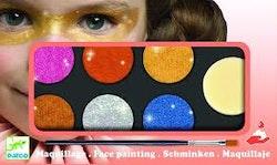 Ansiktsfärg - 3 olika