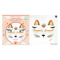 Face-stickers Katt