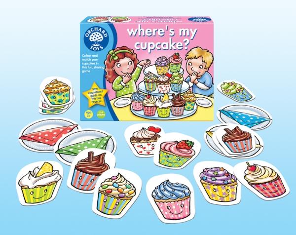 Where´s my cupcake?