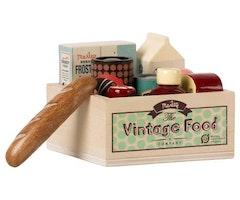 VINTAGE FOOD, GROCERY BOX