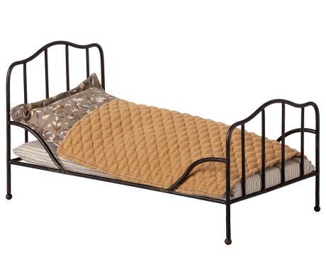 VINTAGE BED, MINI - ANTHRACITE