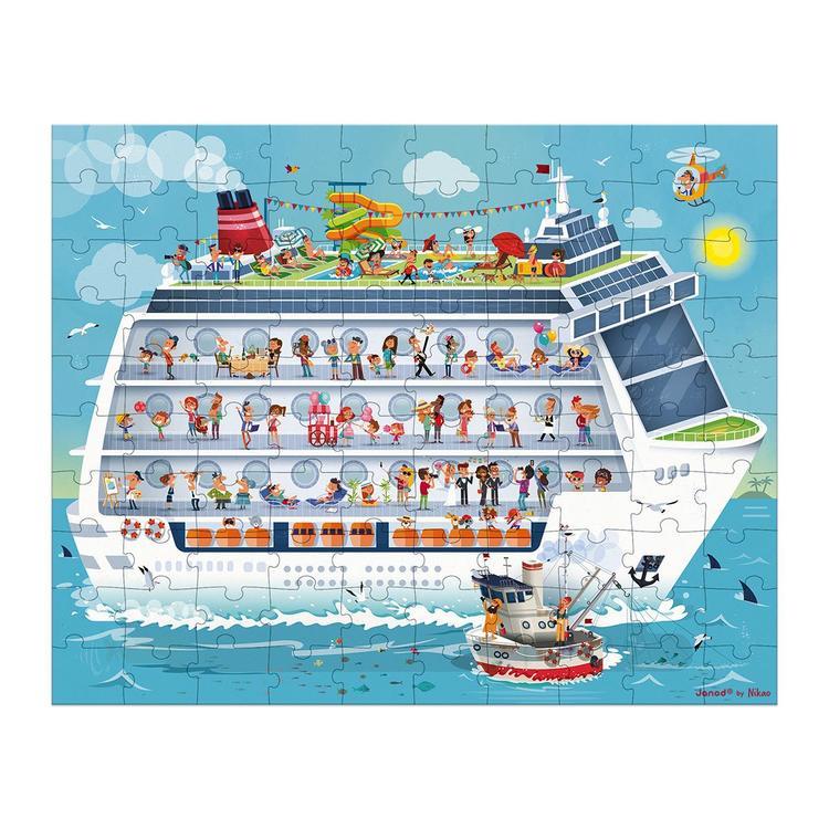 Janod Puzzle Cruise
