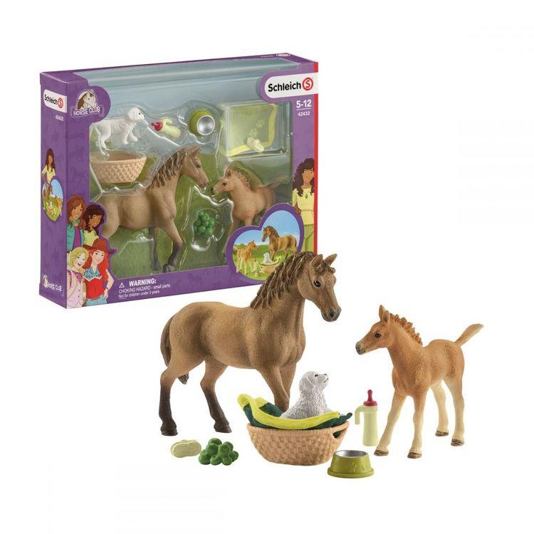 Schleich Horse Club Sarahs baby animal care
