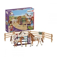 Schleich Tournament training set & Appaloosa hors