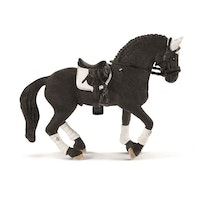 Schleich Frisian Stallion Riding