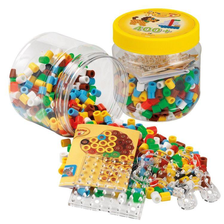 Hama Maxi Beads Tub 400 pcs Gul