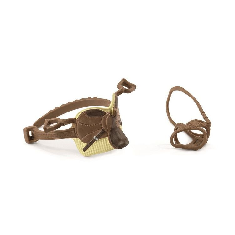 Schleich Saddle & bridle Sarah & Mystery