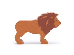 Vild lejon i trä
