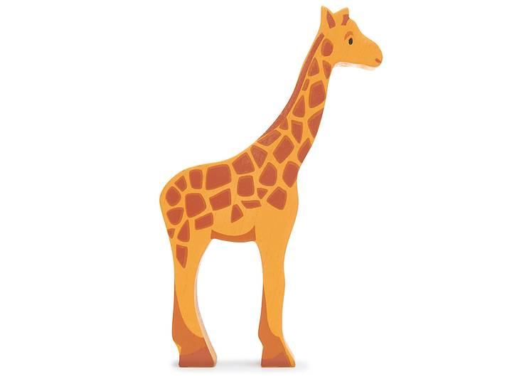 Vild giraff i trä