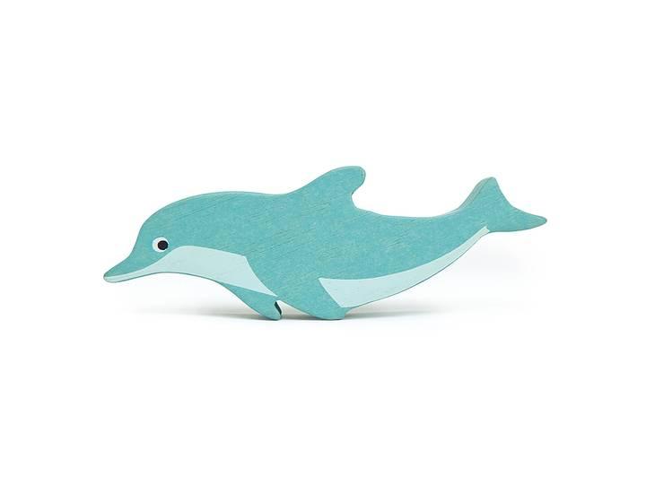 Hav delfin i trä