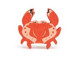 Hav krabba i trä