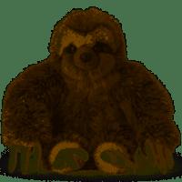 WWF Plush - Sloth - 28 cm