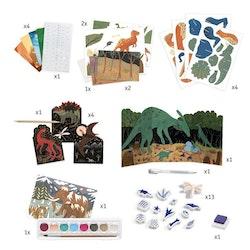 STORT pyssetset- The world of dinosaurs