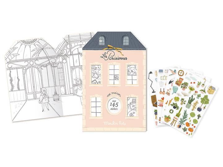 Bok 'Les Parisiennes' med stickers