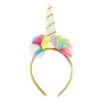 Hårband diadem unicorn