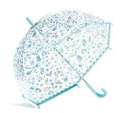 Paraply med enhörningar