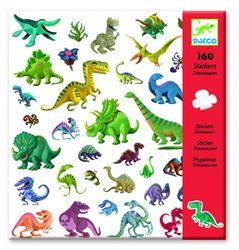 Klistermärken dinosaurier