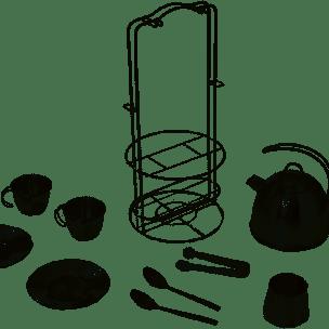 Te-set i stål