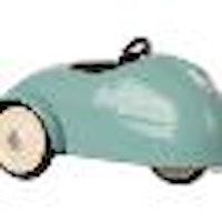 MAILEG MOUSE CAR W. GARAGE - BLUE