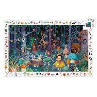 Observation puzzle, Enchanted forest 100 bitar
