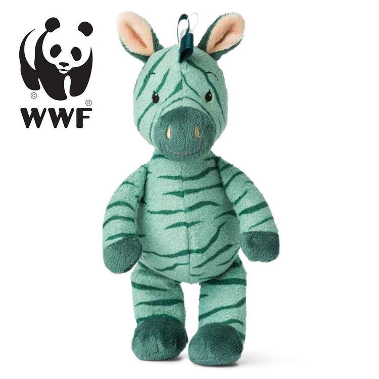 WWF Cub Club -Zigo the Zebra, Grön
