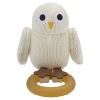 Baby Owls Bitleksak Naturgummi