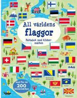 All världens flaggor: faktabok med klistermärken