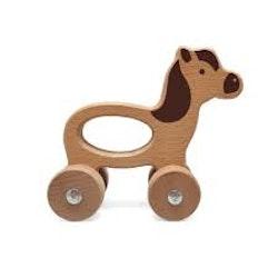 Trädjur på hjul - häst