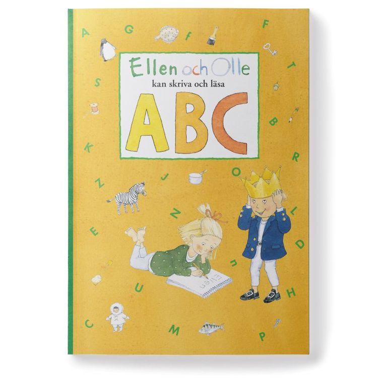 Ellen och Olle ABC skriva&läsa