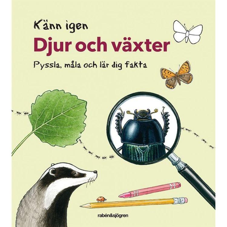 Pysselbok Känn igen djur och växter