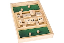 Double shut the box game