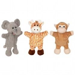 Elefant, Giraff, Apa