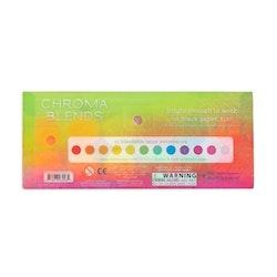 Chroma Blends Watercolor Paint Set – Neon