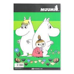 Ritblock Mumin A4