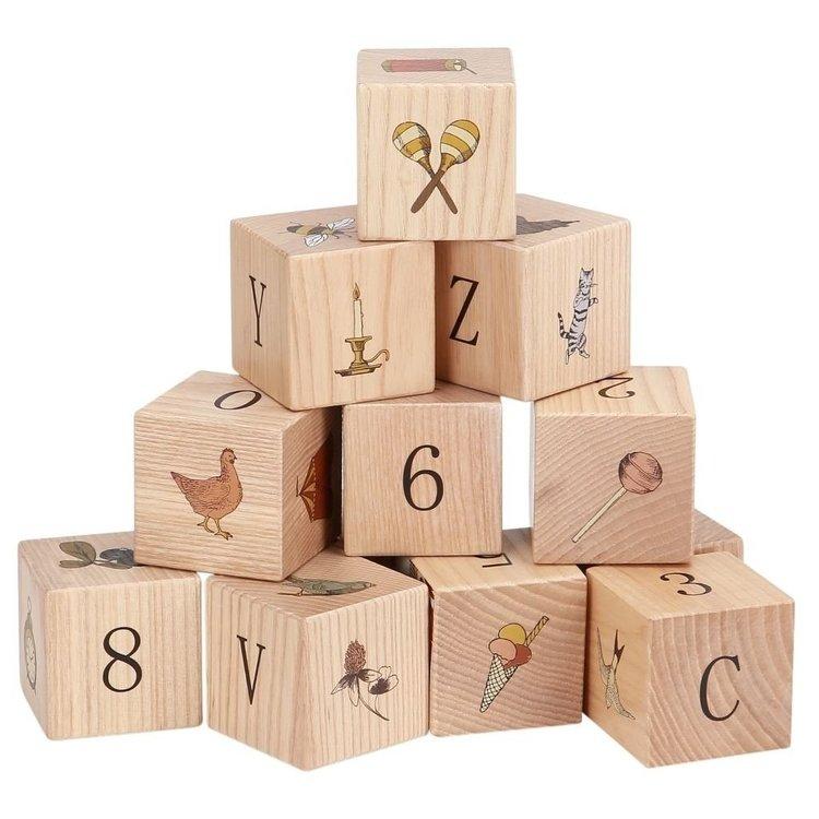Kongesslöjd - Wooden blocks (Multi)
