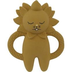 Kongesslöjd - Teeth Soother Lion (Mustard)