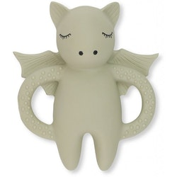 Kongesslöjd - Teeth Soother Bat (light grey)