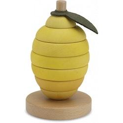 Kongesslöjd Stacking Fruits (lemon)