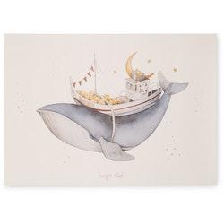 Kongesslöjd Poster Whale