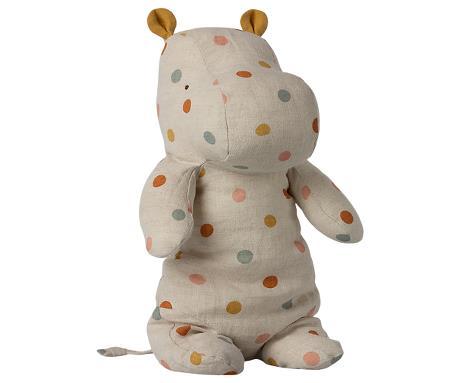 Safari Friends, Medium hippo - Multi dot