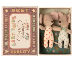BABY MICE, TWINS IN MATCHBOX