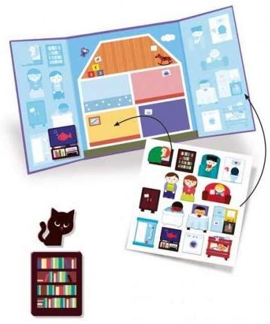 Flyttbara Stickers- House