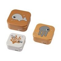 Snack box 3-set Sea Friends - Done by Deer