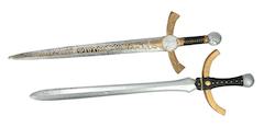 Riddare svärd set