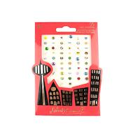 Superhero nail stickers