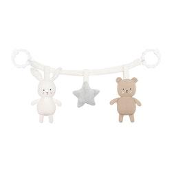 Barnvagnshänge teddy/bunny