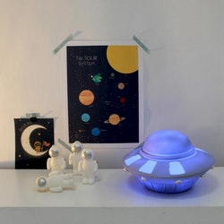 Ufo Colour Changing Lamp
