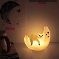 Mini Led Lamp Over The Moon Sloth