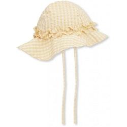 Konges Slöjd - Acacia Baby Sunhat (Yellow check)